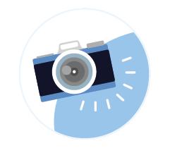 Leistungen Imagefoto Icon