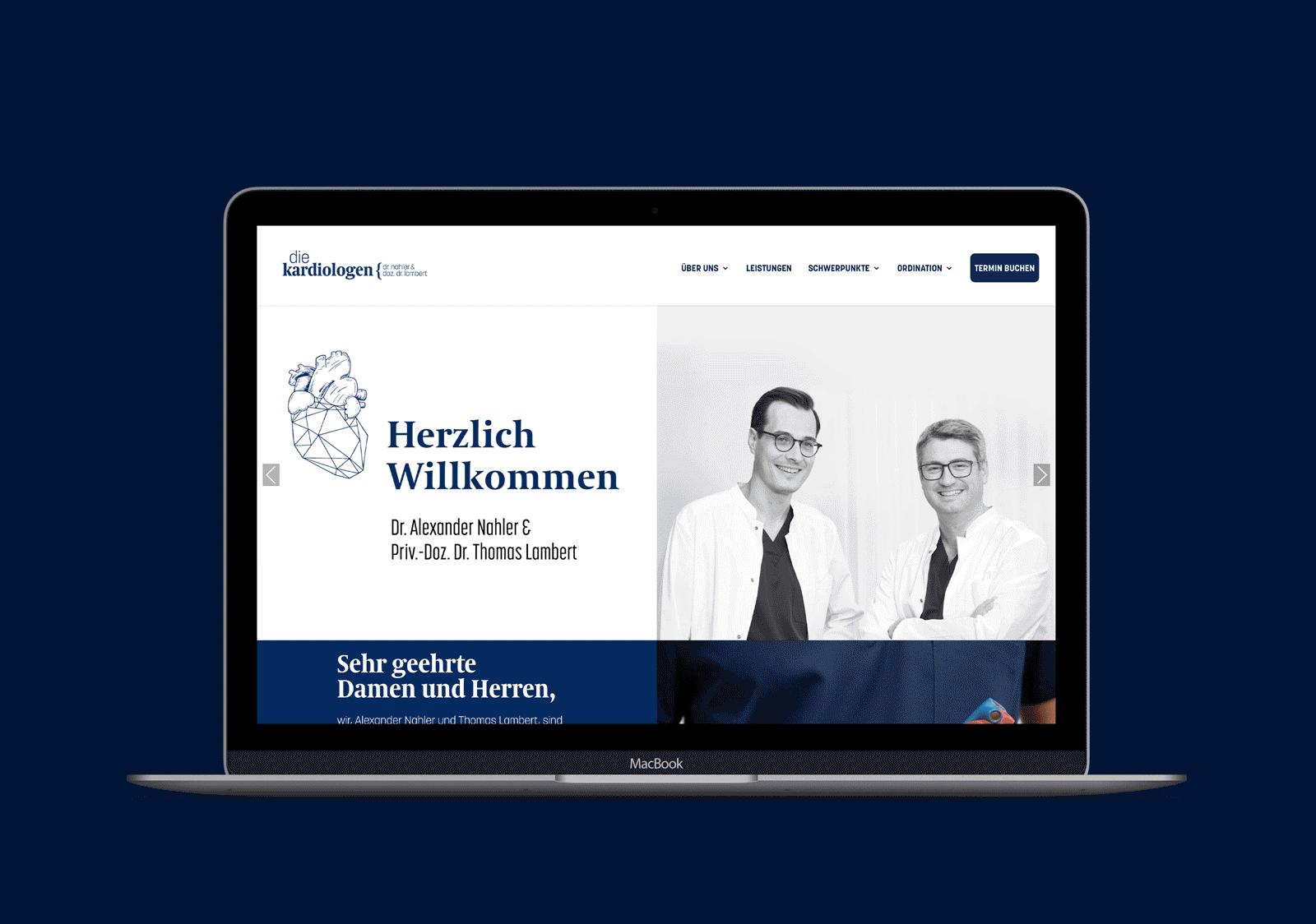 arztwerbung.at die-kardiologen-website