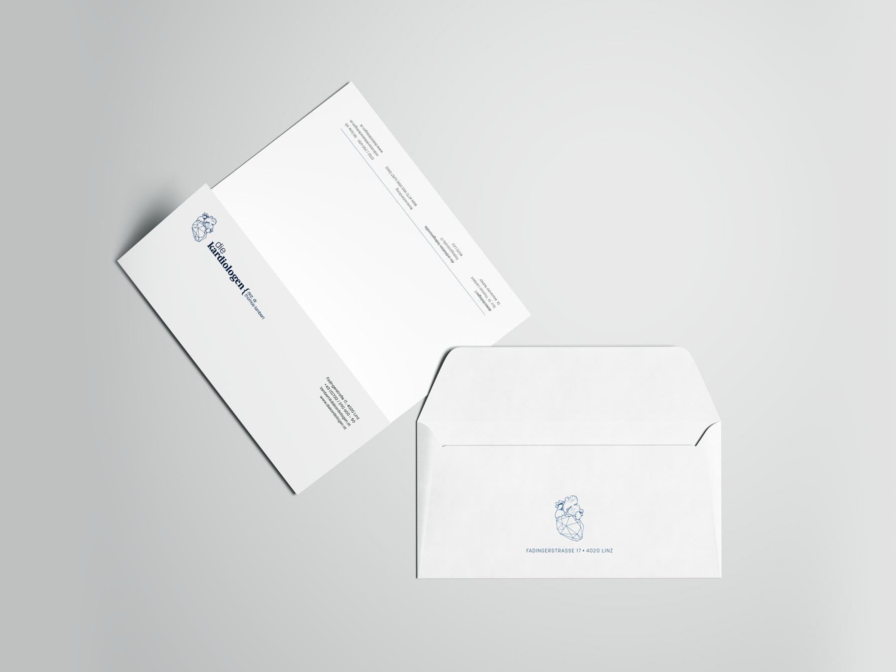 Die Kardiologen Briefpapier