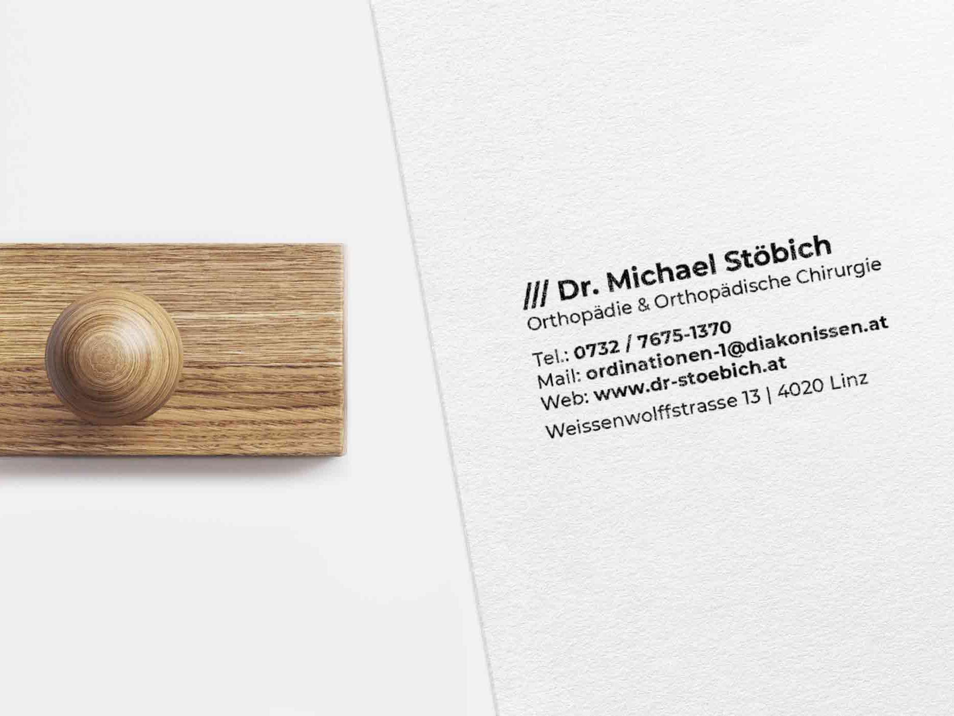 Stempel Dr. Michael Stöbich